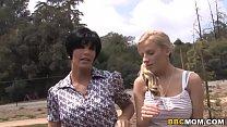 Haley Cummings and Shay Foxx Interracial Threesome Sex thumbnail