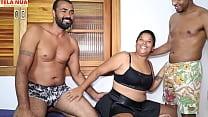CASAL INICIANTE  Marido Convida Negro Dotado E