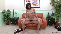 Real asian horny babe eat monster cock with tight pussy thumbnail