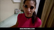Latina Teen Step Daughter Gabriela Lopez Comes Home Late Step Dad Plays With Her Pussy And Big Ass In Shower POV thumbnail