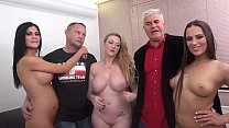 Epic orgy with Jasmin Jae, Mea Melone and Harmo... thumb