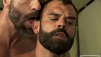 Werewolf Daddy Teaches Pup With Raw Dick - Full Scene