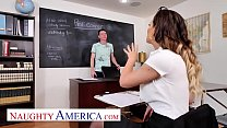 Naughty America - Cherie DeVille fucks student in classroom's Thumb