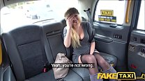 Fake Taxi Busty blonde MILF Amber Jayne sucks and fucks big taxi cock thumbnail