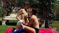GIRLS GONE WILD - One  One With Young Lesbian Ameurs Emily & Tess Playing Soccer - 9Club.Top