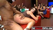 19 Awesome orgy at club with hot bitches! 16