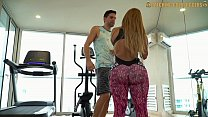 8791 Venezuelan Big Booty Gold Digger Gets Fucked After A Workout preview