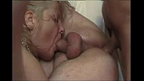French mature bi couple fucked hard by a porn a...