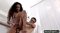 16436 Hot black stepsis fucked by her stepbro preview