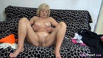 Nasty granny masturbates pornhub video