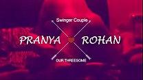 Loud Moaning Desi Wife Pranya in Threesome with Hubby Friend