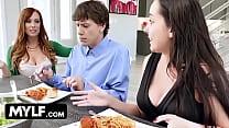 Redhead MOM Steals Her Daughter's Boyfriend- Dani Jensen