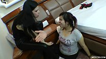 Do You Want A Cream Pie? - Karina Cruel Feeds Disobedient Slave