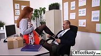 Sex In Office With Big Round Tits Girl (Lennox Luxe) video-22 thumbnail