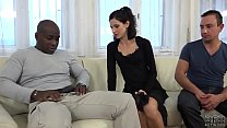 Cuckold Training Wife fucks black man in front ...
