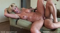 TJ Powers fucks waiter in her bungalow in summer holidays