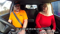 Huge tits granny bangs driving instructor Thumbnail