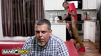 BANGBROS - Brandi Bae Gets Dicked Down By Her Father's Black Friend video