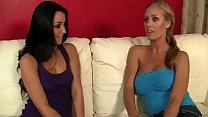 Two lesbian girls having sex
