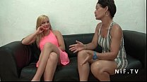 Pretty amateur young french blonde hard banged for her casting couch video