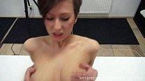 Czech Casting - Busty Nikola rides the cock thumbnail