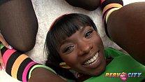 PervCity Ana Foxxx and Yasmine DeLeon Interracial Blowsandwich video