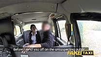 Image: Fake Taxi Big tits long hair and high heels