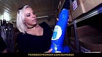 BUMS BUS - Wild public sex with horny European hottie Lilli Vanilli Vorschaubild