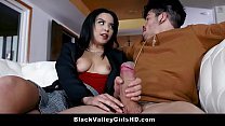 Hot Mixed Race Teen Spinner Maya Bijou Seduces ... Thumbnail