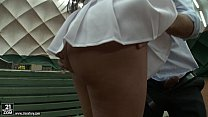 Anissa Kate tennis court anal fuck