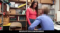 Shoplyfter - Hot Teen Caught And Fucked For Stealing On Black Friday thumbnail