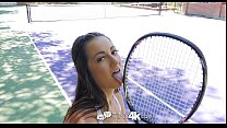 Tiny4K - Tennis Student Lily Adams Is Fucked By Her Instructor