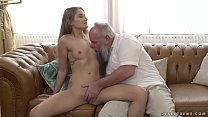 Teen Beauty Vs Old Grandpa & karlee grey feet thumbnail