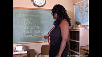 Image: Sexy mature black teacher fucks her juicy pussy for you