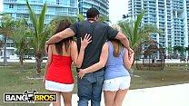BANGBROS - Carlo Carrera Finds Penelope Tyler & Dayna Vendetta In Downtown Miami