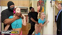 BANGBROS - AJ Applegate Gets Hate Fucked By Home Invader Behind Dad's Back Thumbnail