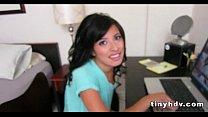 Amateur teen enjoys good cock Jasmine Gomez 1 41 preview image