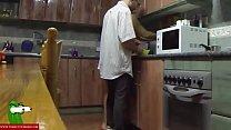 sexo entre los foges de la cocina c la morena tetcita GUI045 - 9Club.Top
