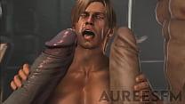 Leon X Pyramid Head X Mr  X   Resident Evil SFM