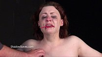 Hot wax punishment and amateur bdsm of crying Isabel Dean in extreme bondage and