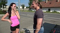 Skinny brunette goes angry but too horny to reject Vorschaubild