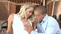 Muscular guy assfucked the maid Christen Courtney image