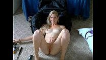 Perfect blond makes herself cum on Kamsru.com