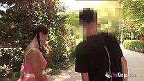 Tender 18 girl teasing Retiro denizens. Alba stops for nothing. thumbnail
