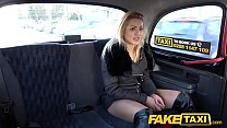Fake Taxi Just a coat no underwear fuck