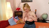 Big tits amateur milf plays with tits and pussy pornhub video