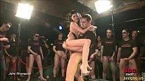 Adina got fucked after strip teasing - German Goo Girls pornhub video