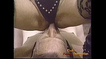Naughty dominatrix has her pussy and her feet licked with fervor preview image