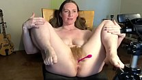 Behind The Scenes Squirting On Chair Two Angles