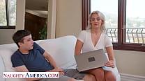 Naughty America - Hot Milf Jordan Maxx wants that young cock